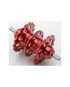 GAREDDY FIXED FRONT HUB MOHAWK VER. 32H Red