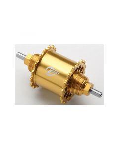 GREDDY FIXED REAR HUB REVOLVER Ver. 32H Gold