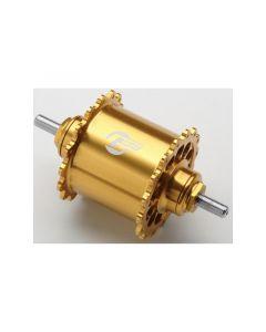 GREDDY FIXED FRONT HUB REVOLVER Ver. 32H Gold