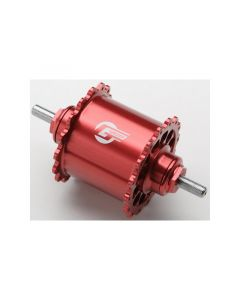 GREDDY FIXED FRONT HUB REVOLVER Ver. 32H Red