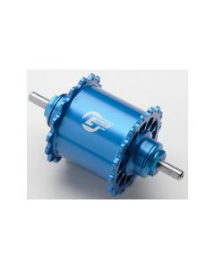 GREDDY FIXED FRONT HUB REVOLVER Ver. 32H Blue