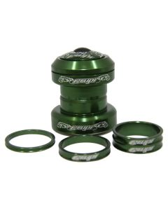 "CRUPI 6061 T6 HEADSET 1-1/8"" GREEN"