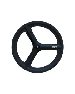 DINER 3SPOKE CARBON WHEEL CLINCHER FRONT