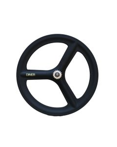 DINER 3SPOKE CARBON WHEEL CLINCHER REAR