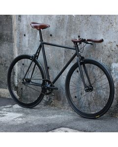 CARTEL BIKES AVENUE LO BLACK BROOKS SPECIAL CUSTOM BROWN