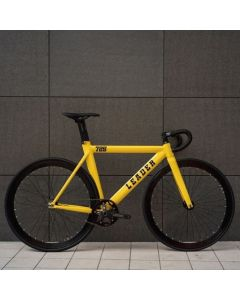LEADER BIKES 725TR COMPLETE BIKE YELLOW
