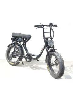 【2月入荷予定】ROCKA FLAME FUMA フーマ 電動アシスト付自転車 ブラック