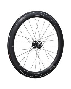 HED. JET 6 PLUS BLACK TRACK CLINCHER CARBON WHEEL REAR