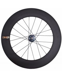 DINER 88mm CARBON WHEEL CLINCHER REAR