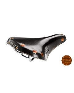 BROOKS TEAM PRO S CHROME SADDLE BLACK