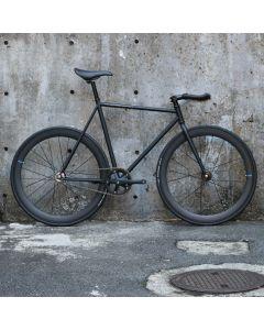 cartel bikes avenue lo pist bike DINER FRONT & REAR 50mm CARBON WHEEL CUSTOM