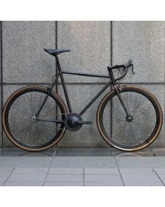CARTEL BIKES AVENUE LO GRAVEL CUSTOM MATBLACK