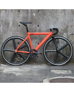 LEADER BIKE 721 ENCORE WHEELS CUSTOM MATTE ORANGE