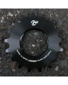 GREDDY FIXED-GEAR COG ALUMI 17T BLACK