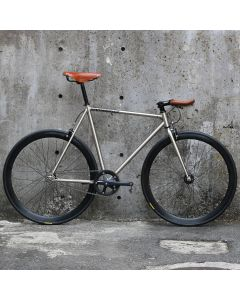 CARTEL BIKES AVENUE LO CHROME BROOKS SPECIAL CUSTOM HONEY