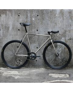 CARTEL BIKES AVENUE LO CHROME BROOKS SPECIAL CUSTOM BLACK