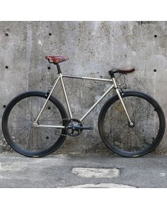 CARTEL BIKES AVENUE LO CHROME BROOKS SPECIAL CUSTOM BROWN