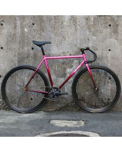 ALL CITY BIG BLOCK PINK FADE COMPLETE BIKE