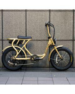 【2月入荷予定】ROCKA FLAME FUMA フーマ 電動アシスト付自転車 ゴールド