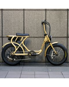 ROCKA FLAME FUMA フーマ 電動アシスト付自転車 ゴールド
