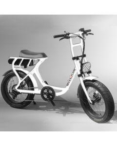 【10月入荷予定】ROCKA FLAME FUMA フーマ 電動アシスト付自転車 ホワイト