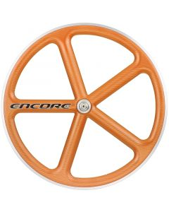 ENCORE WHEELS 700C FIXED GEAR WHEEL ORANGE