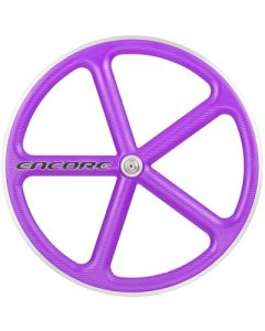 ENCORE WHEELS 700C FIXED GEAR WHEEL PURPLE