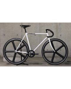 CARTEL BIKES AVENUE MATWHITE ENCOREWHEELS CUSTOM