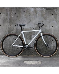CARTEL BIKES AVENUE MATTE WHITE BROOKS CUSTOM