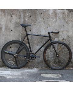 cartel bikes avenue lo pist bike DINER REAR 3SPOKE CARBON WHEEL CUSTOM