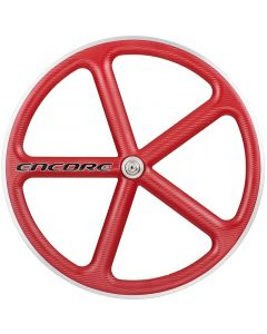 ENCORE WHEELS 700C FIXED GEAR WHEEL VIPER RED