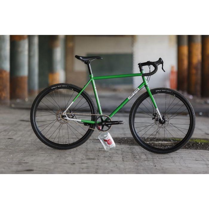 ピストバイク 完成車 ALL CITY NATURE BOY DISC  Green/White PISTBIKE