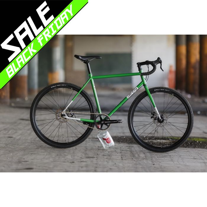 【 BLACK FRIDAY SALE !! 】 ALL CITY NATURE BOY DISC Green/White PISTBIKE
