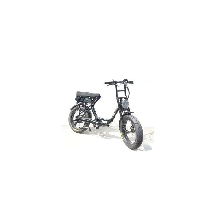 【5月中旬頃入荷予定】 ROCKA FLAME FUMA フーマ 電動アシスト付自転車 ブラック