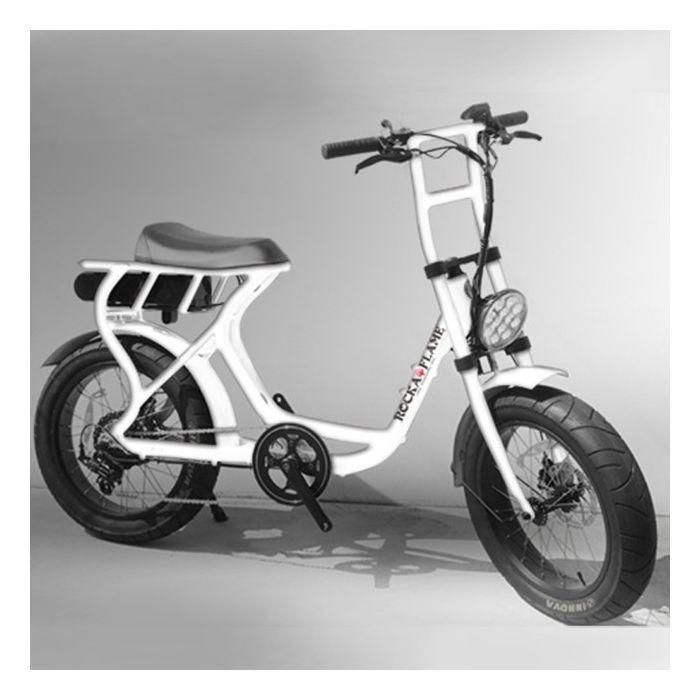 【1月末入荷予定】ROCKA FLAME FUMA フーマ 電動アシスト付自転車 ホワイト