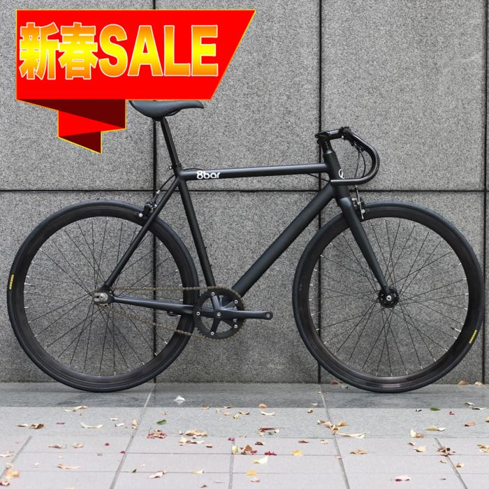 【 新春セール 】8bar bikes FHAIN V4 COMPLETE BIKE MATTE BLACK