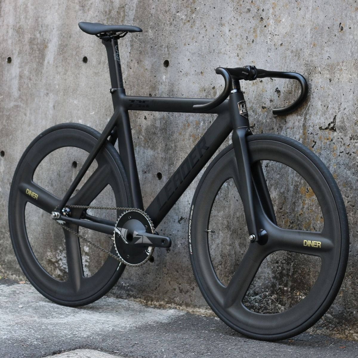 LEADER BIKE 735TR F&R 3SPOKE CARBON WHEEL CUSTOM