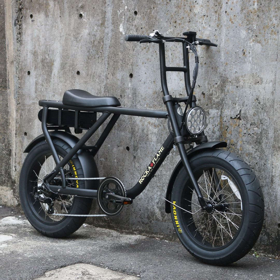 【2月入荷予定】ROCKA FLAME MAKAMI マカミ 電動アシスト付自転車 マットブラック