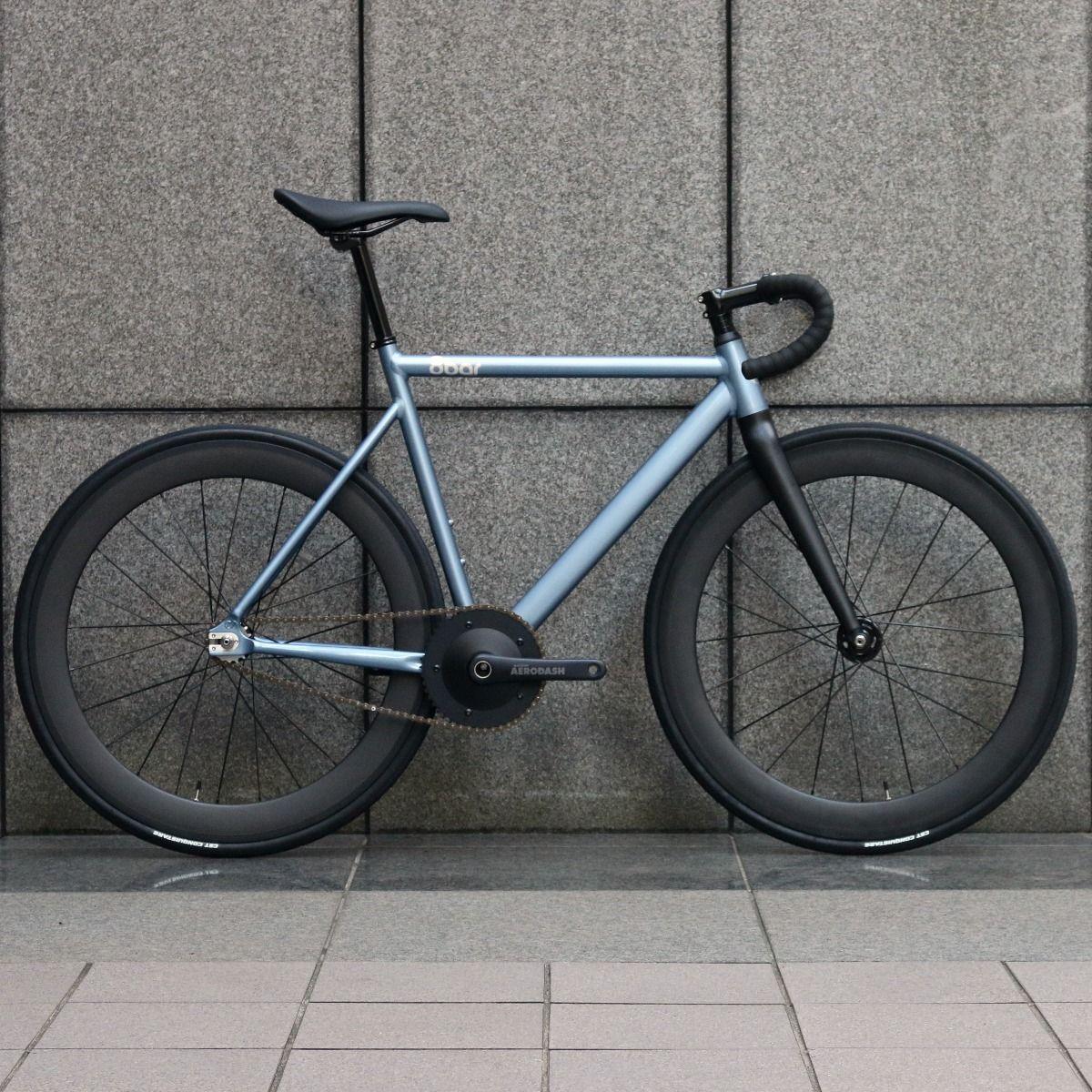 8bar bikes KRZBERG V7 CUSTOM BIKE BLUE METALLIC