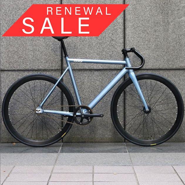 【リニューアルセール】【限定1台】  8bar bikes KRZBERG V7 CUSTOM BIKE BLUE METALLIC 54cm(Mサイズ)