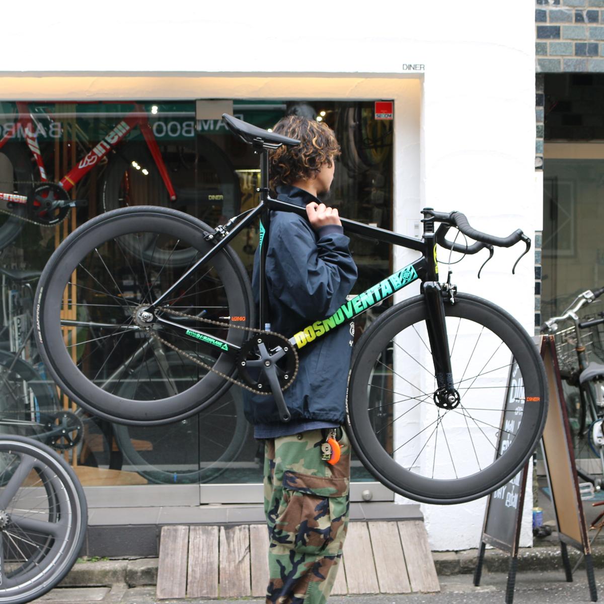 気持ちの入っている自転車は全て魅力的。