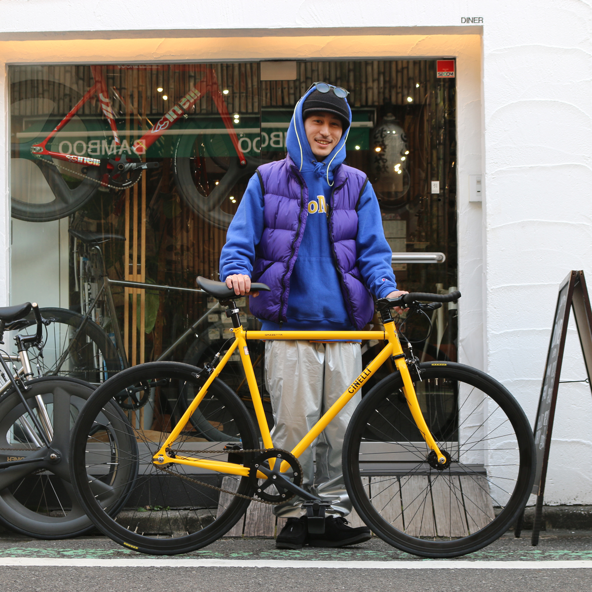 お手頃とは言うもののこの自転車の完成度は唯一無二