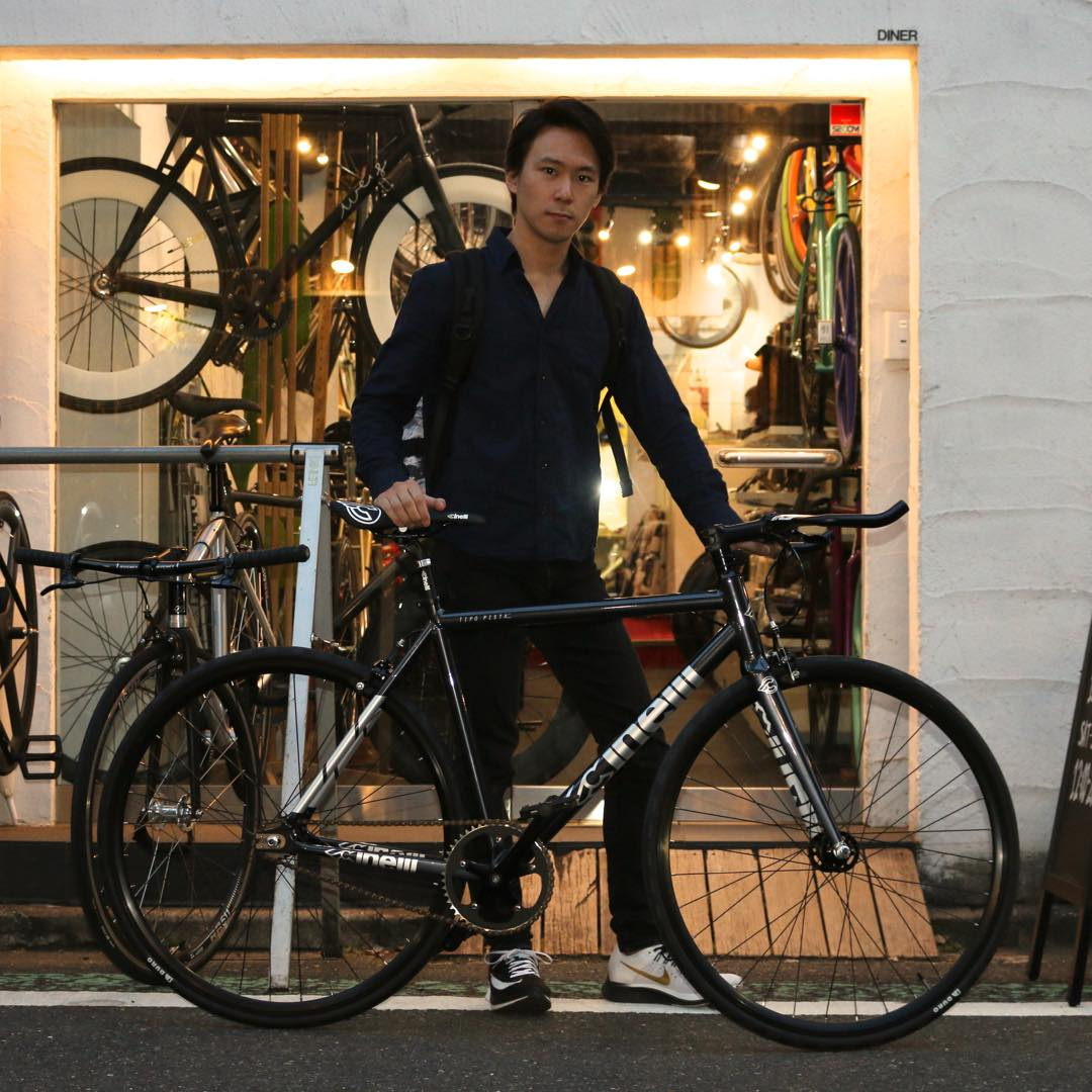 NEW CINELLI TIPO PISTAが旅立ちました!!